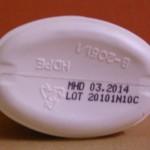 Kodierung/Prägung - 50 ml Ovalflasche
