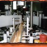 Einlauf zur Etikettiermaschine