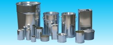 Abfüllung Produkte aus Metall
