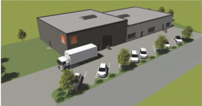 Grundriss des neuen Standortes in 3D